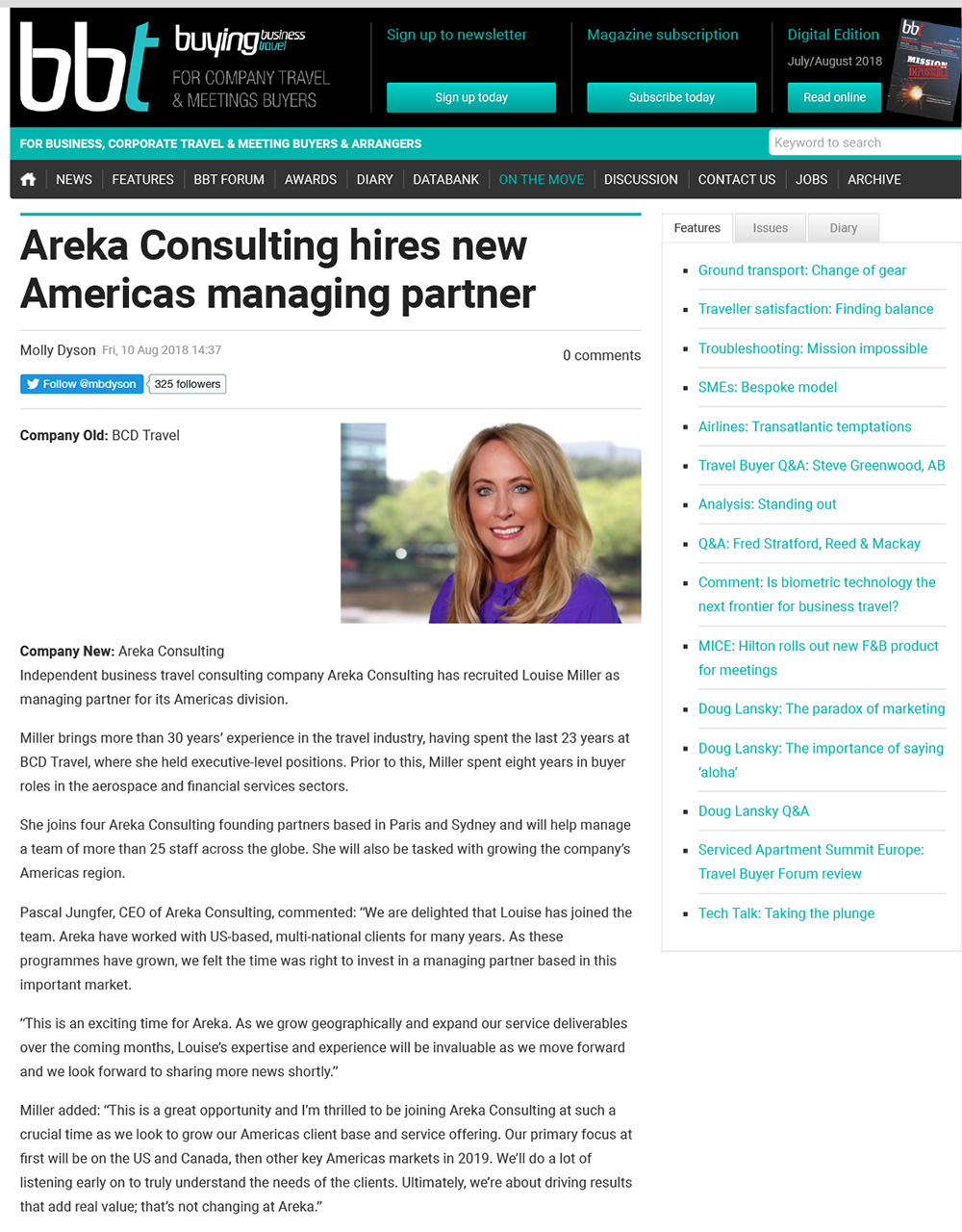 hires new Americas managing partner