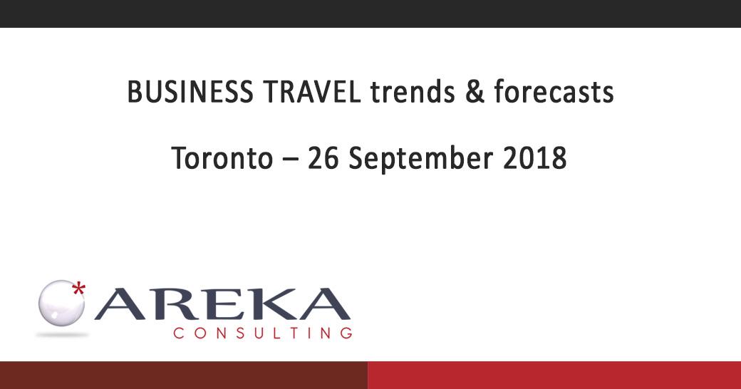 Areka Consulting, toronto business travel