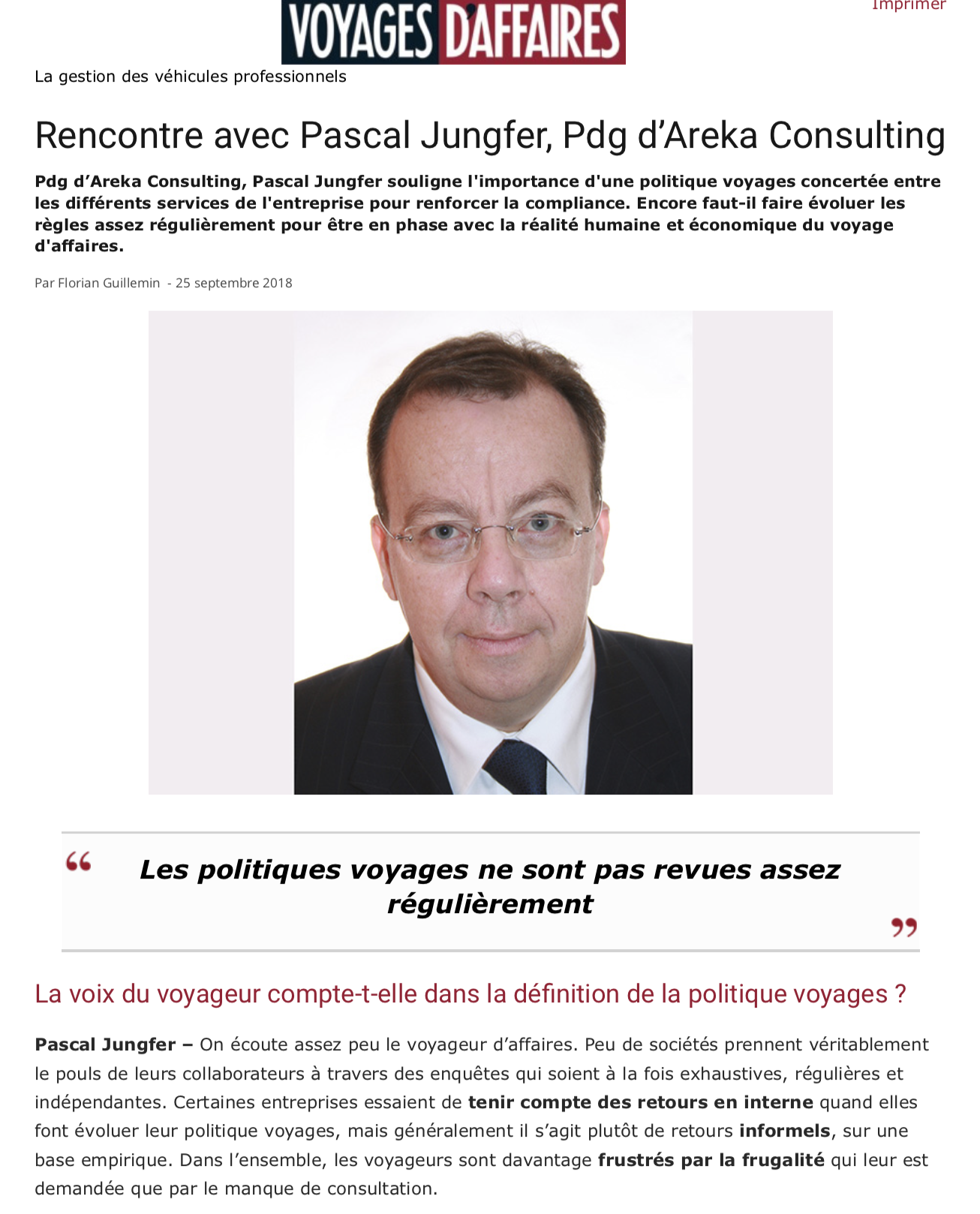 voyages, d'affaires, pascal jungfer
